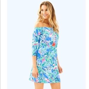 Lilly Pulitzer Laurana Dress , off shoulders